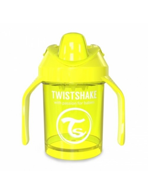 Vaso Aprendizaje Twistshake 260ml Amarillo neon yellow