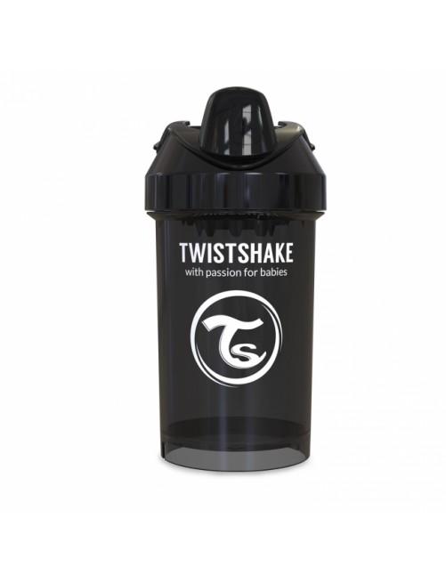 Vaso Aprendizaje Twistshake 300ml Negro Agua Bebe Antigoteo