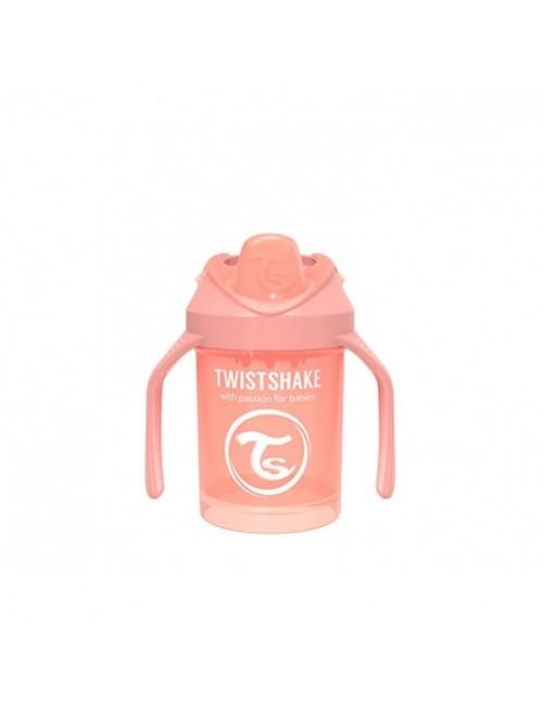Vaso-Aprendizaje-Twistshake-230ml-Coral-Pastel-Accesorios-Puericultura-Bebes-Antigoteo-Tienda-Zaragoza-Online