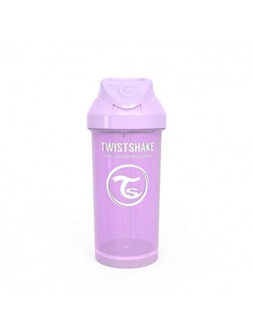 Vaso-Aprendizaje-Twistshake-360ml-Straw-Cup-Lila-Pastel-Pajita-Accesorios-Puericultura-Bebes-Antigoteo-Tienda-Zaragoza-Online