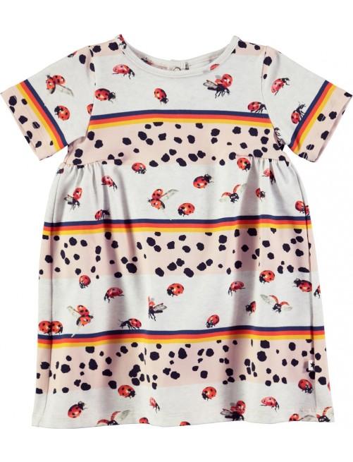Vestido-Calypso-Be-My-Ladybird_Molo Kids_Moda_Infantil _Zaragoza_Niña_Print_Ecologico_Algodon_Organico_