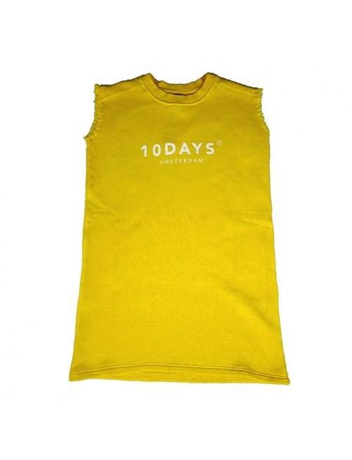 Vestido Sleeveless Sweatdres 10Days Yellow  moda infantil zaragoza modacasual alternativa tienda moda infantil zaragoza