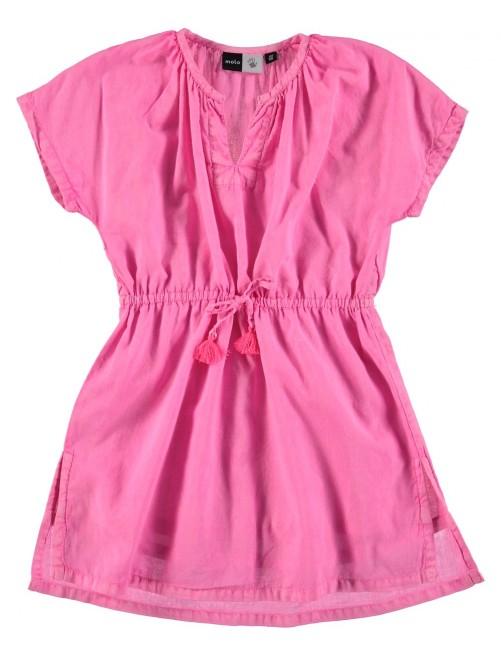 Vestido Playero Molo Kids Caly Knockout Pink