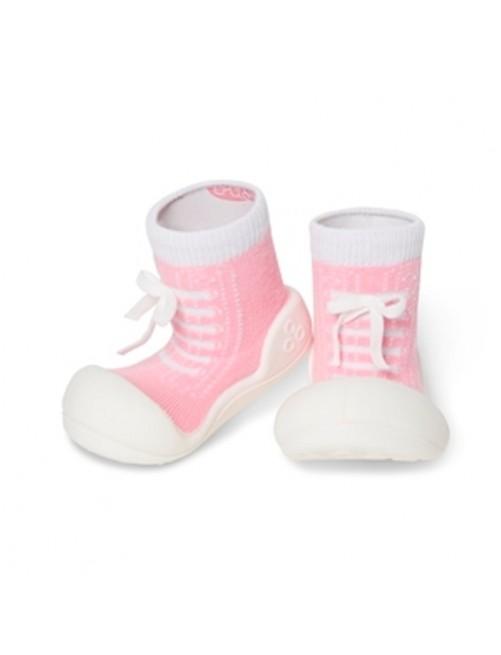 Zapatillas-Attipas-Sneakers-Rosa-Primeros_pasos-Bebe-Puericultura-Tienda-Online-Zaragoza