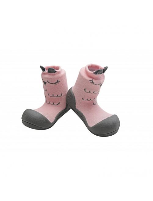 Zapatillas Cutie Rosa Attipas Primeros pasos Ergonomicas Transpirables Puericultura Zaragoza Bebe