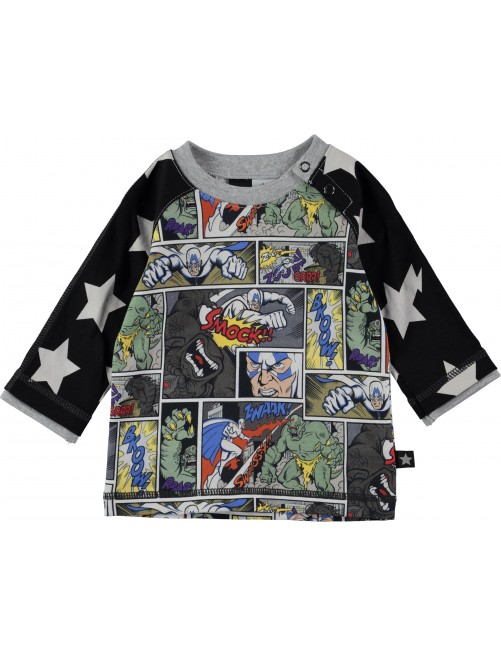 Camiseta Manga Larga Molo Kids Elton Cartoon