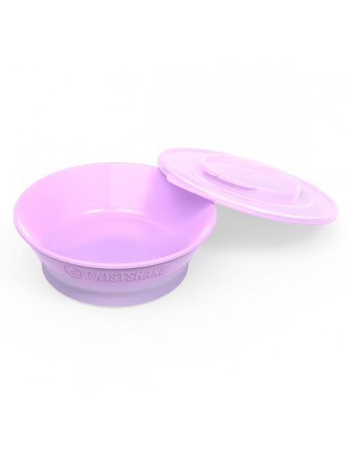 Bowl Twistshake  6+ Morado Pastel