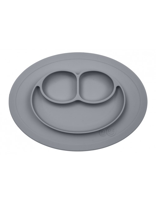 Mini Mat Grey EzPz (Mini Plato Gris)