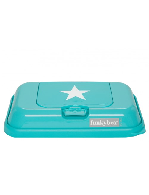 Dispensador FunkyBox To Go Turquesa Estrella