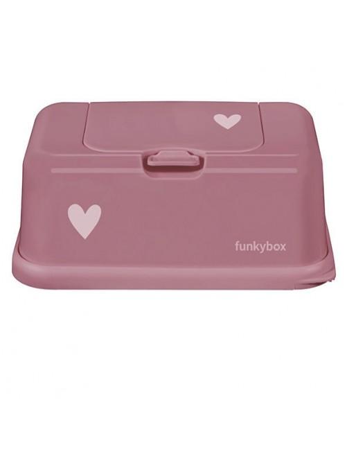 Dispensador FunkyBox Corazón Rosa Francés