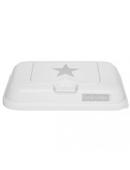 Dispensador FunkyBox To Go Blanco Estrella