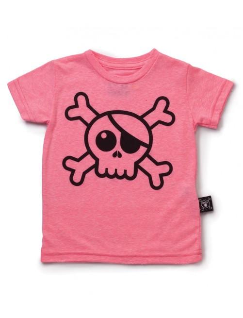 Camiseta Nununu Big Skull T-Shirt Pink