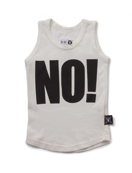 Camiseta Nununu No! Tank Top White