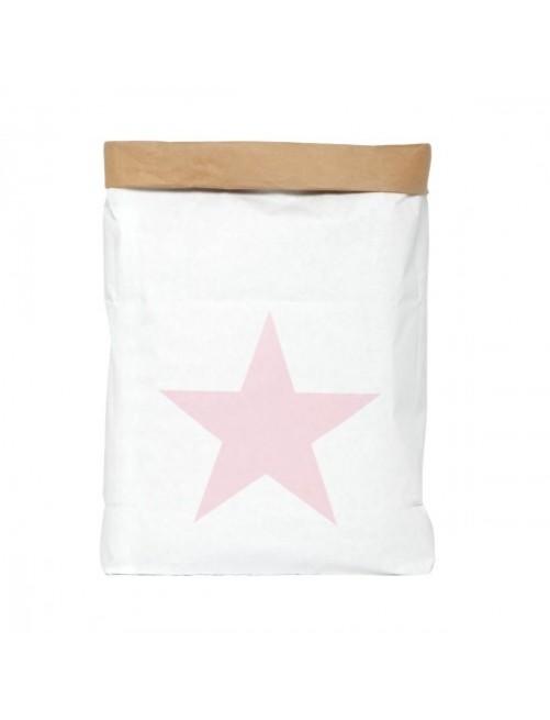 Saco Organizador Mini Be-Nized Bags Estrella Rosa