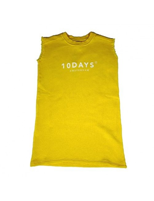 Vestido Sleeveless Sweatdres 10Days Yellow