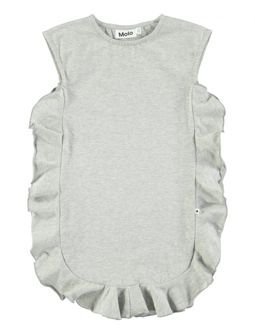 Vestido Molo Kids Cho Grey Melange