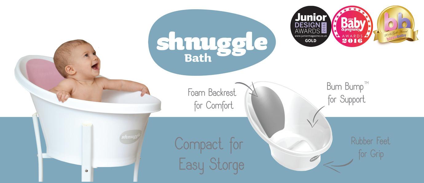 Premios bañera shnuggle puericultura innovadora anticolicos
