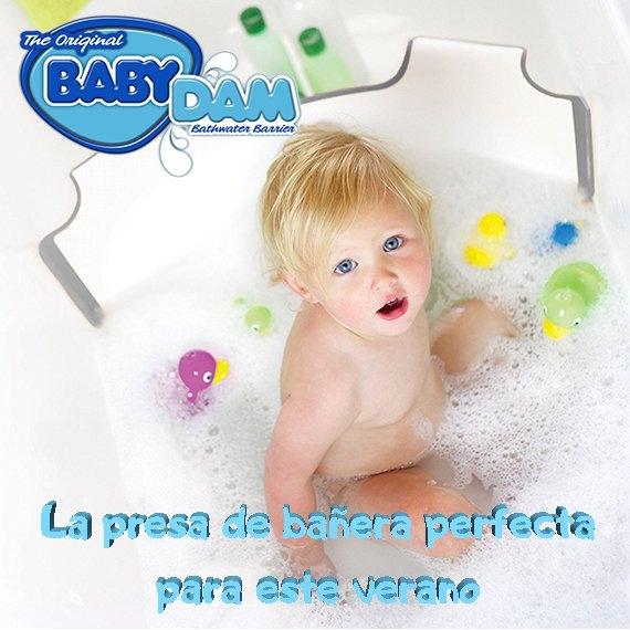 Presa BabyDam Bañera bebe portatil de viaje Puericultura innovadora tienda online Zaragoza