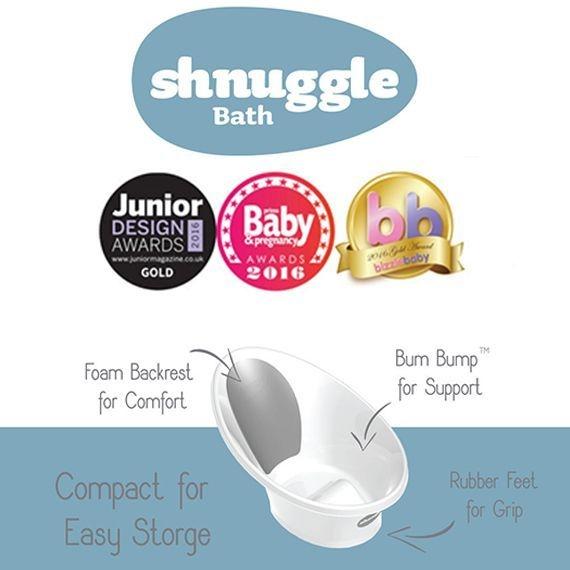 Bañera anticolicos Shnuggle Puericultura innovadora tienda online Zaragoza