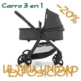 Silla-carro-3-en-1-bonarelli-300-edicion-limitada-chasis-negro