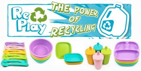 Re-Play vasos antigoteo bandejas platos puericultura 2