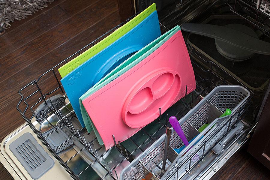 Platos silicona en el lavavajillas